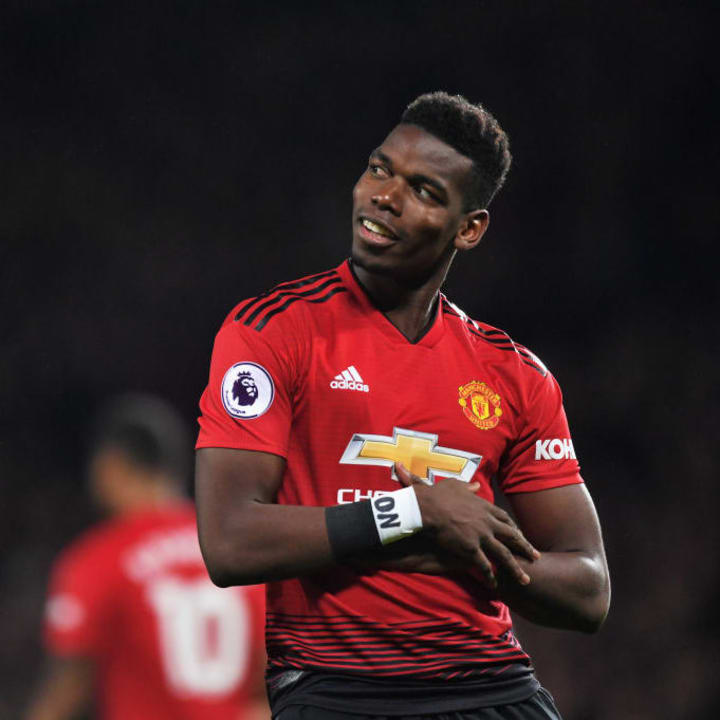 Paul Pogba is the club's record signing