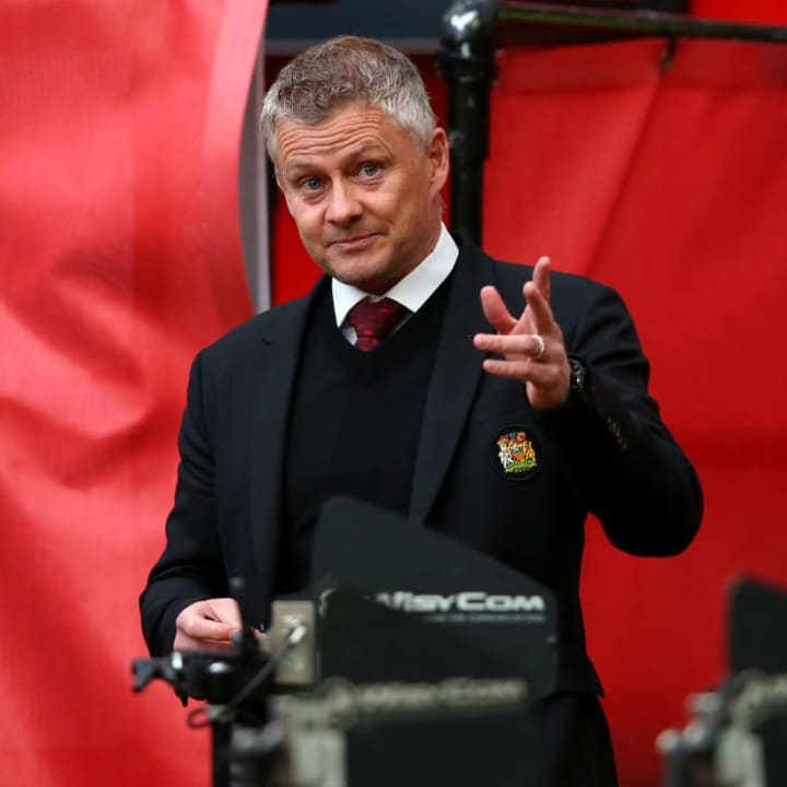 Ole Gunnar Solskjaer's side look to have second place in the bag