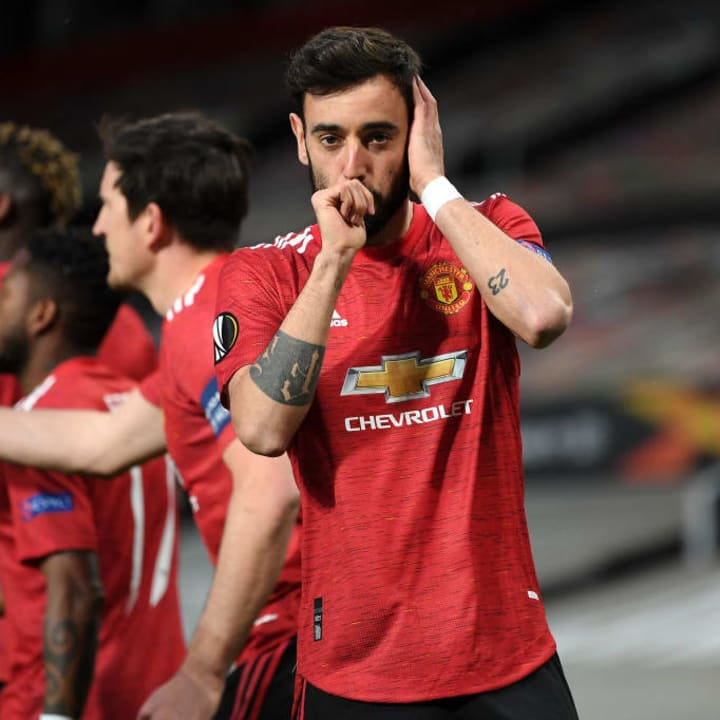 Bruno Fernandes handed United the lead