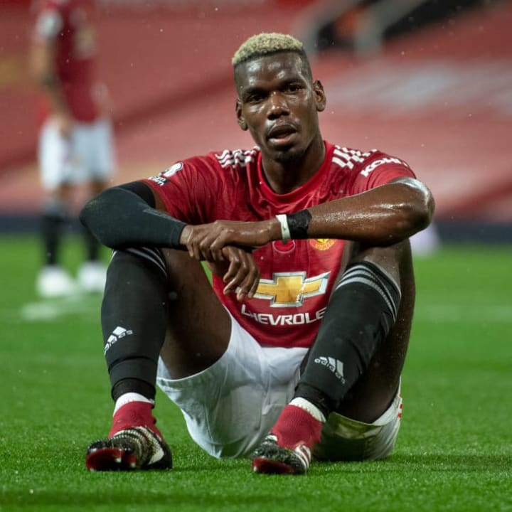Pogba has been lacking full match fitness all season