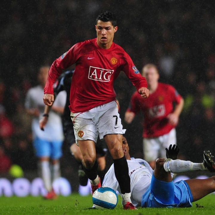 Cristiano Ronaldo, Ashley Young