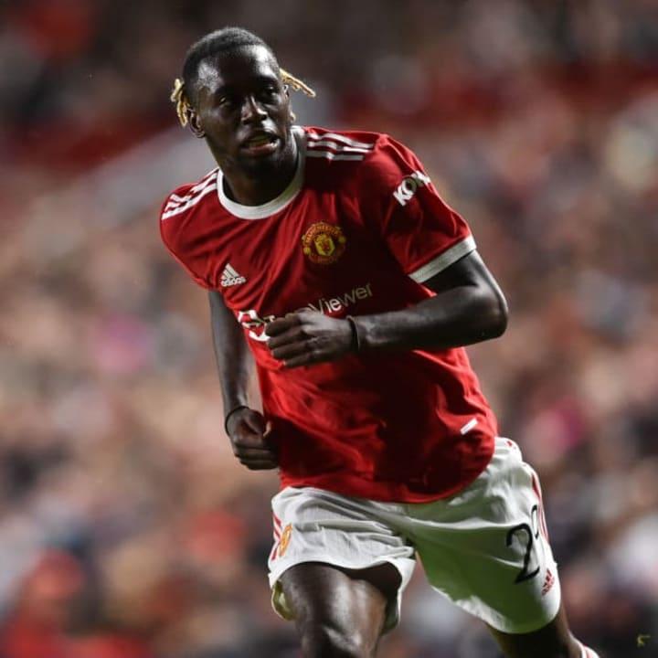 Manchester United's Aaron Wan-Bissaka