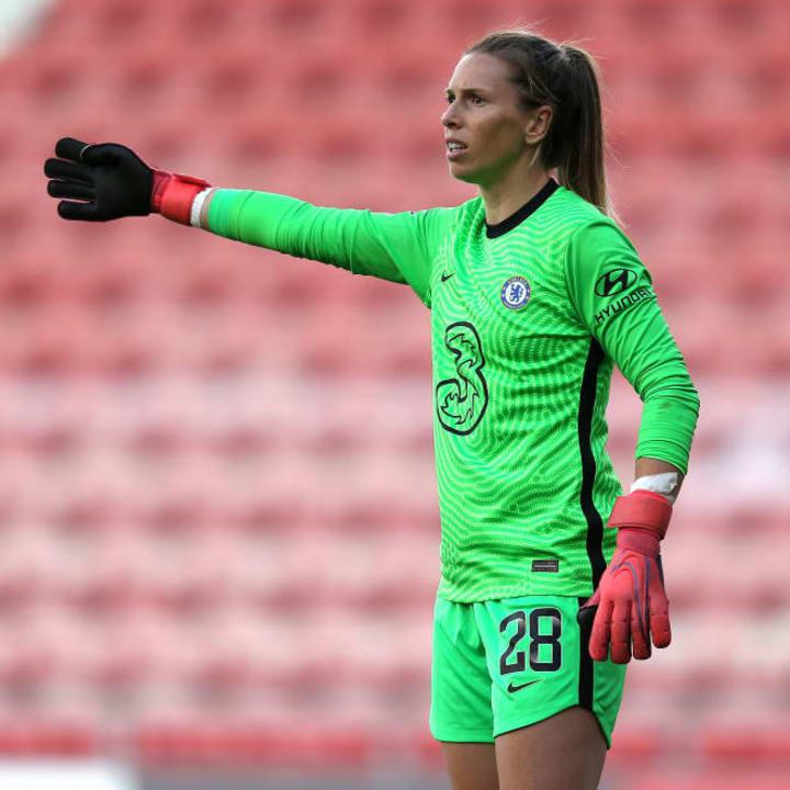 Veteran Chelsea goalkeeper Carly Telford hasn't made the cut