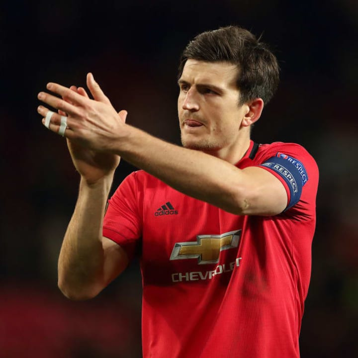 Harry Maguire - Manchester United captain