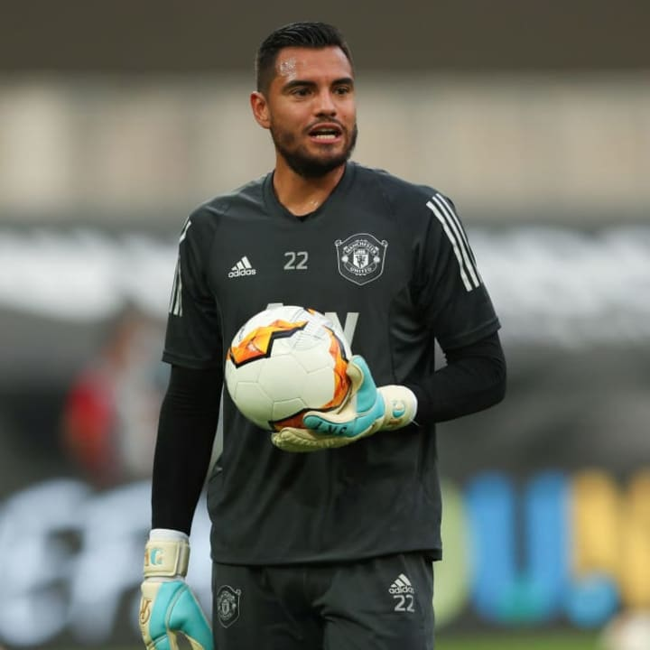Romero is expected to leave Old Trafford