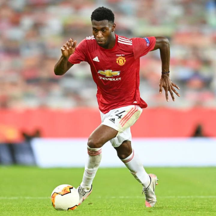 Fosu-Mensah played 30 times for Man Utd