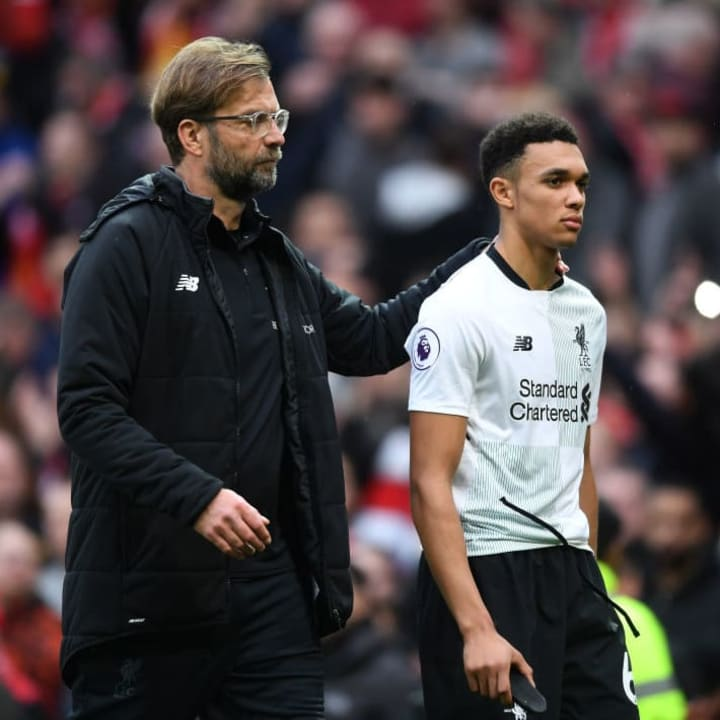 Jurgen Klopp knows Alexander-Arnold is special