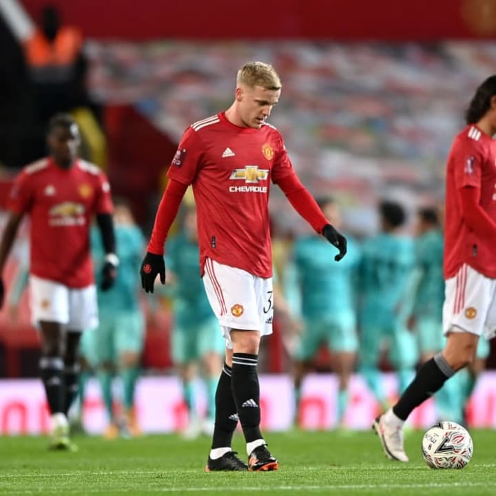 Van de Beek is happy to stay at United