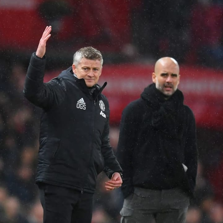 Guardiola's City were held by Ole Gunnar Solskjaer's Manchester United at the weekend