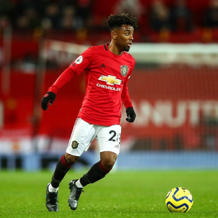 Angel Gomes is out of contract at the end of this month