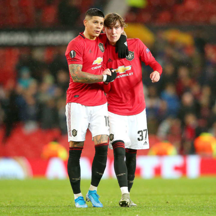 Rojo has not played at all this season