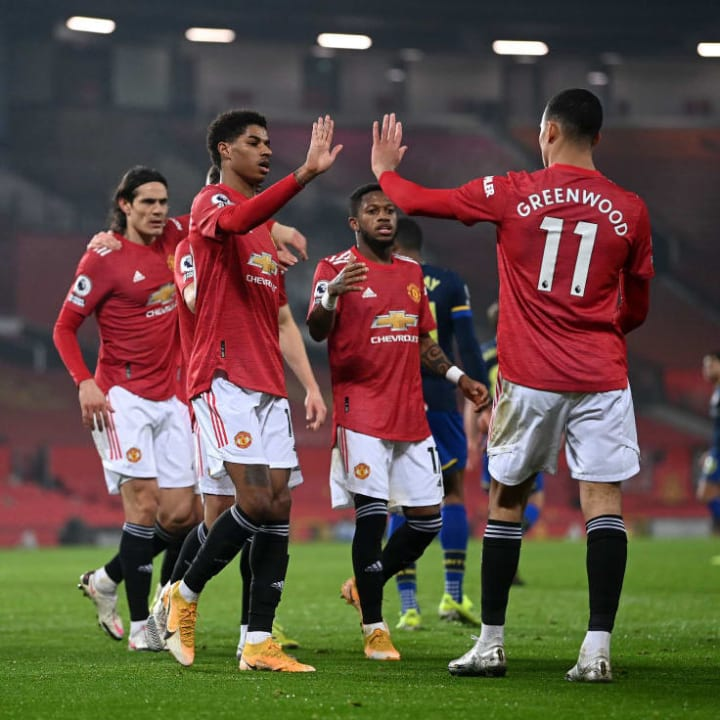 Greenwood and Rashford are a reminder to Shoretire that he can break into United's first team