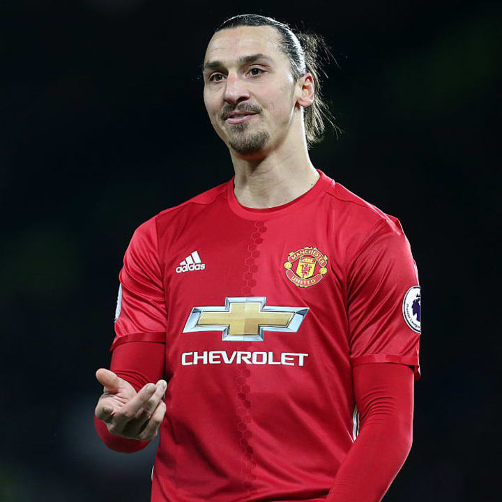 Ibrahimovic is likely to miss the return to Old Trafford