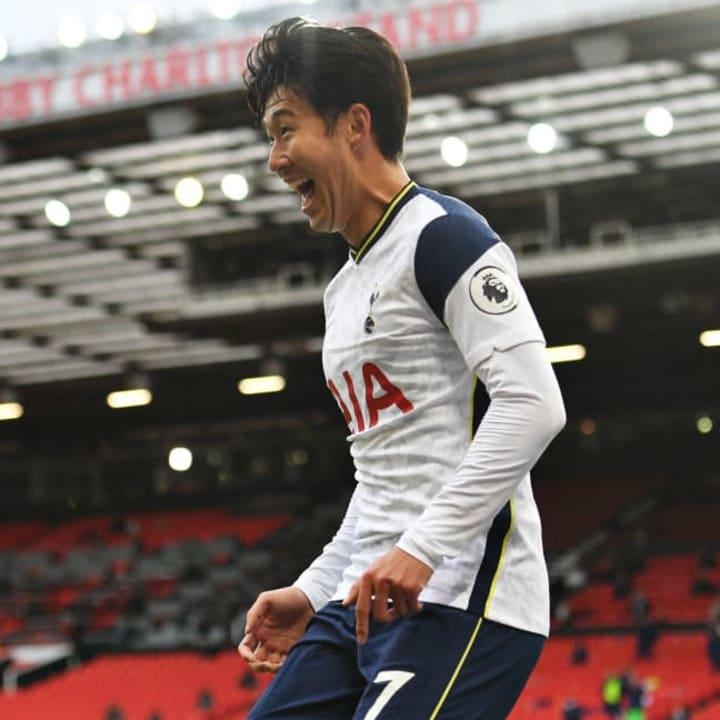 Son is the Premier League's joint top scorer this season