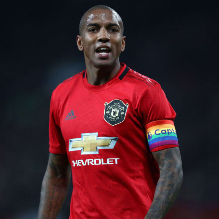 Ashley Young - Manchester United captain