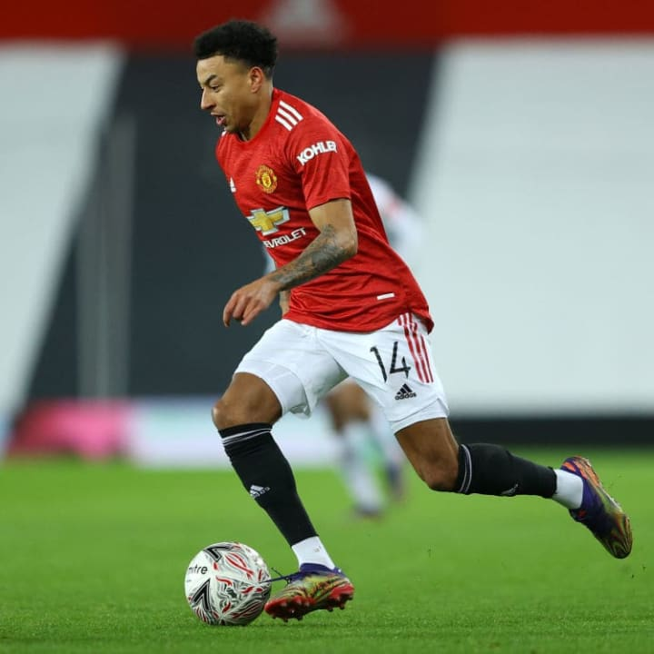 Lingard came out of the cold to face Watford