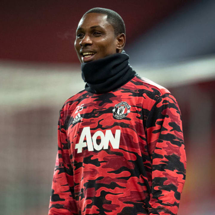 Ighalo rarely played for Man Utd after his loan was extended