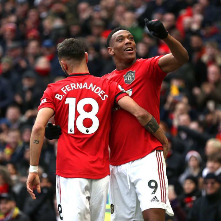 Anthony Martial, Bruno Fernandes