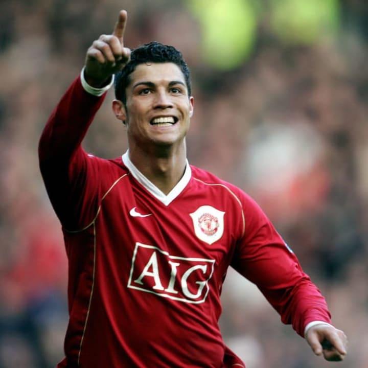 Cristiano Ronaldo dari Manchester United