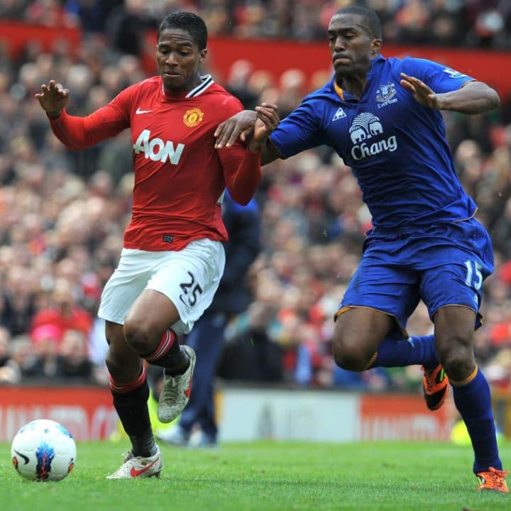 Manchester United's Ecuador midfielder A