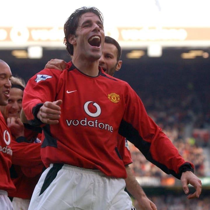 Ruud van Nistelrooy scored 44 goals in 2002/03 alone
