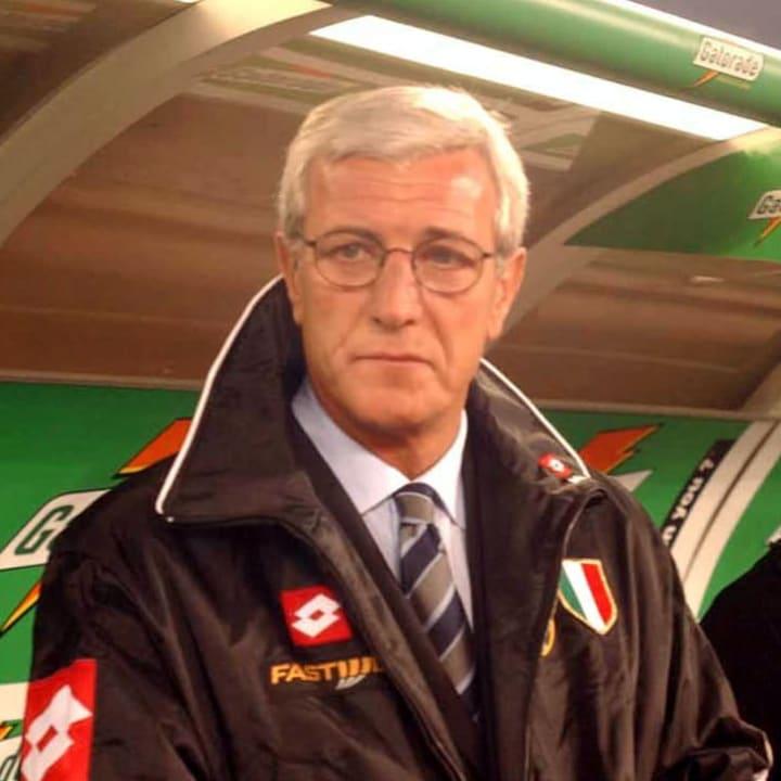Marcello Lippi had two spells in Turin
