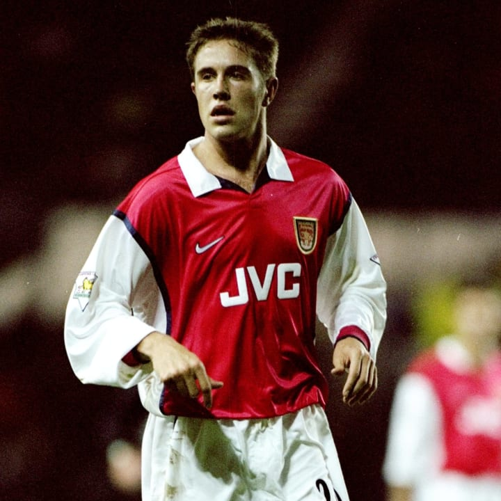 Matthew Upson joined Arsenal as a teenager