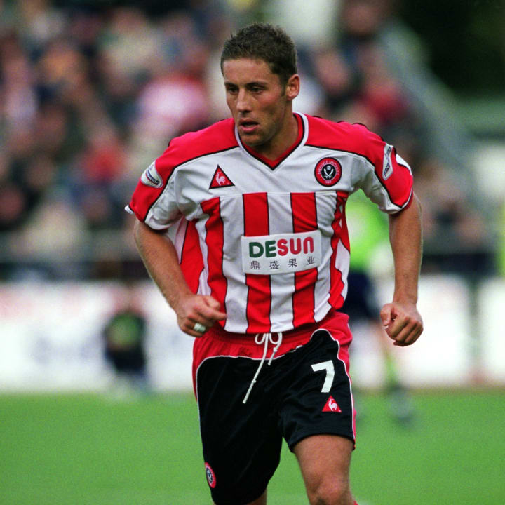Michael Brown of Sheffield United