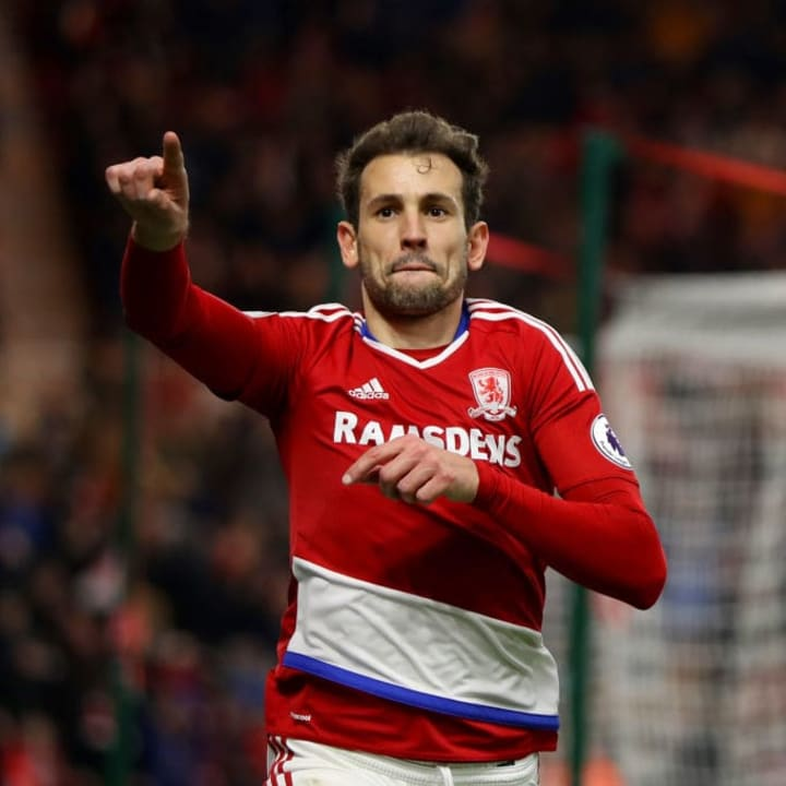 Stuani spent time with Middlesbrough