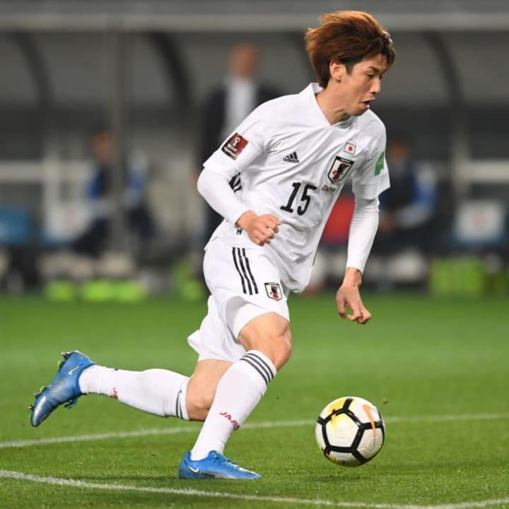 Werder-Angreifer Yuya Osako im Japan-Dress