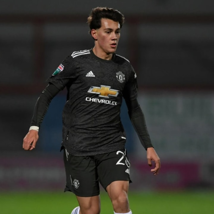 Pellistri is yet to make his first-team debut