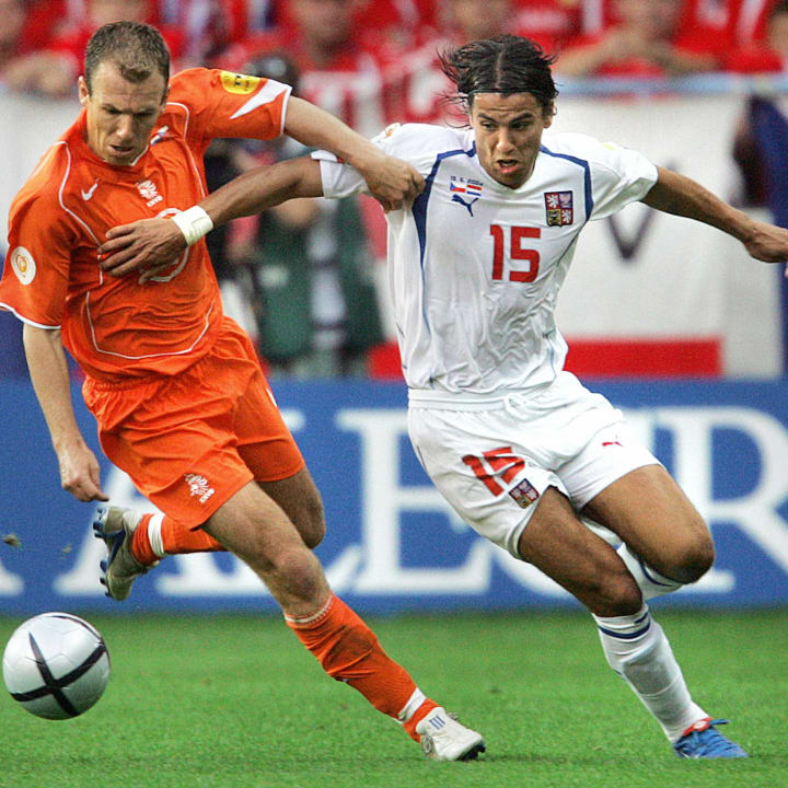 Robben was awesome at Euro 2004