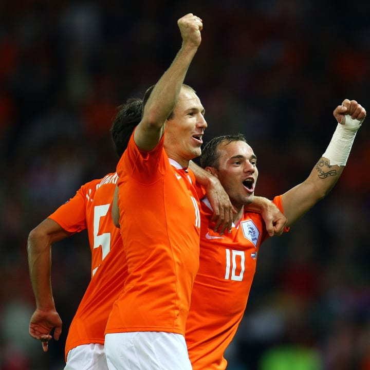 Arjen Robben, Wesley Sneijder