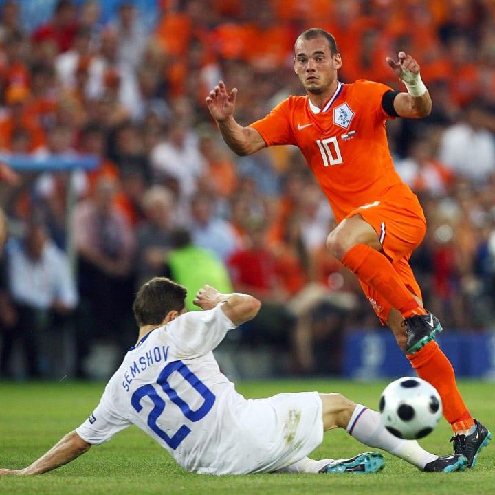 Igor Semshov, Wesley Sneijder
