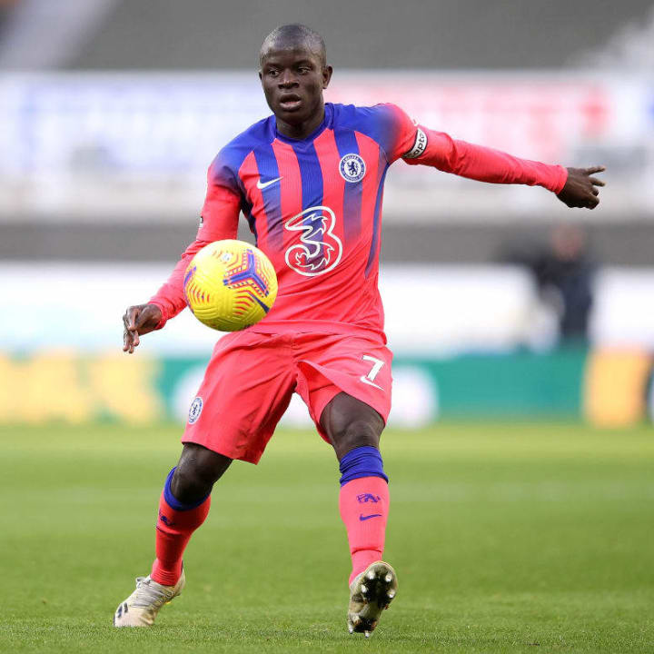 Kante was named PFA Player of the Year in 2017