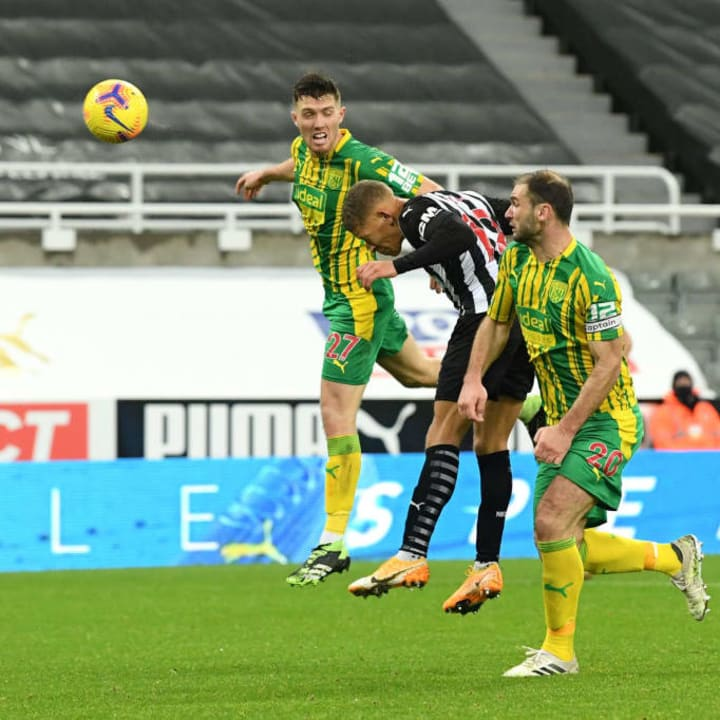 Gayle's header secured three points for Newcastle