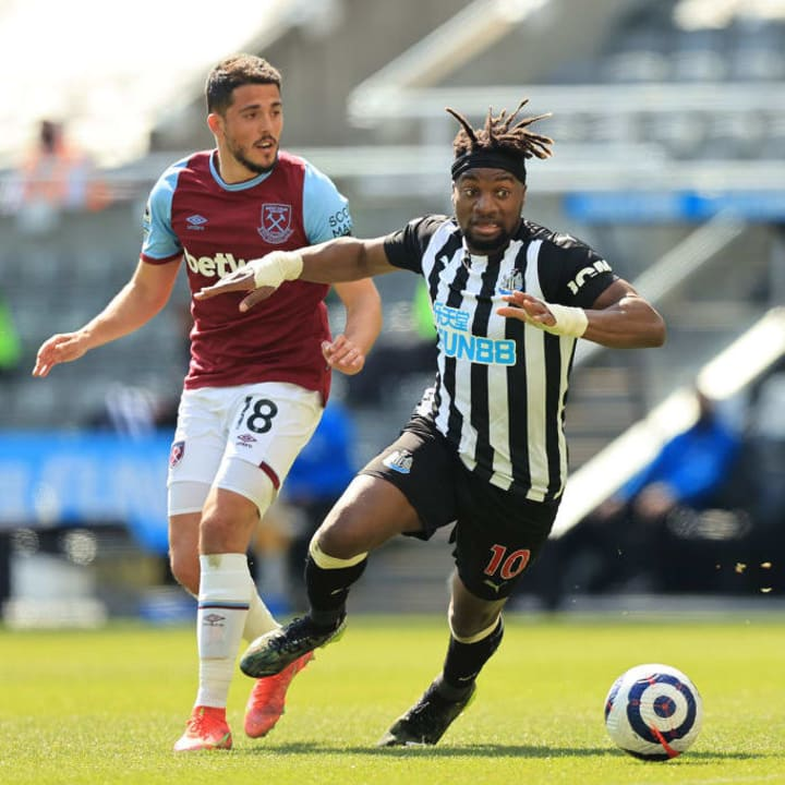 Allan Saint-Maximin was superb for Newcastle
