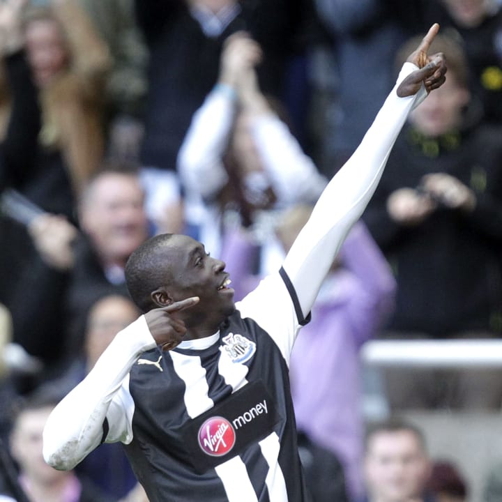 Newcastle United's Senegal striker, Papi