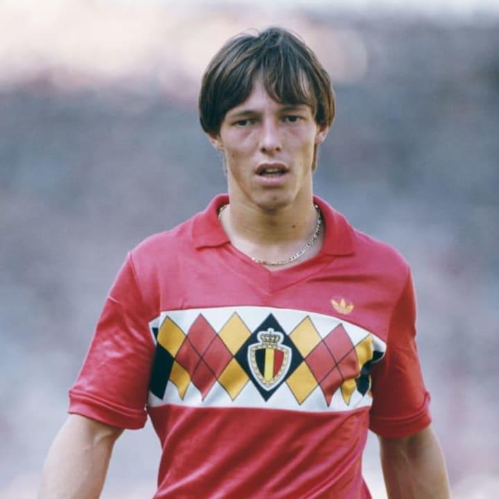 Nico Claesen in Belgium's Euro 84 offering