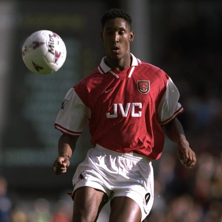 Nicolas Anelka of Arsenal