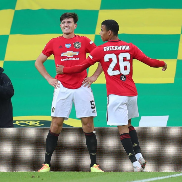 Harry Maguire, Mason Greenwood