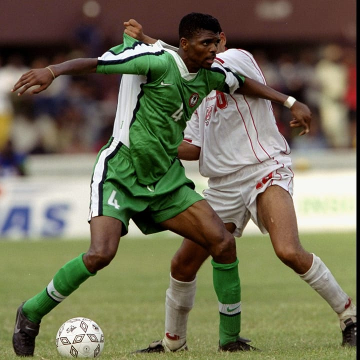Kanu played a major role as Nigeria shocked the world in 1996