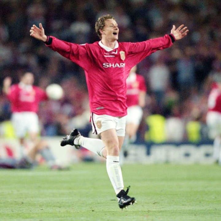 Ole Gunnar Solskjaer scored the 1999 Champions League winner