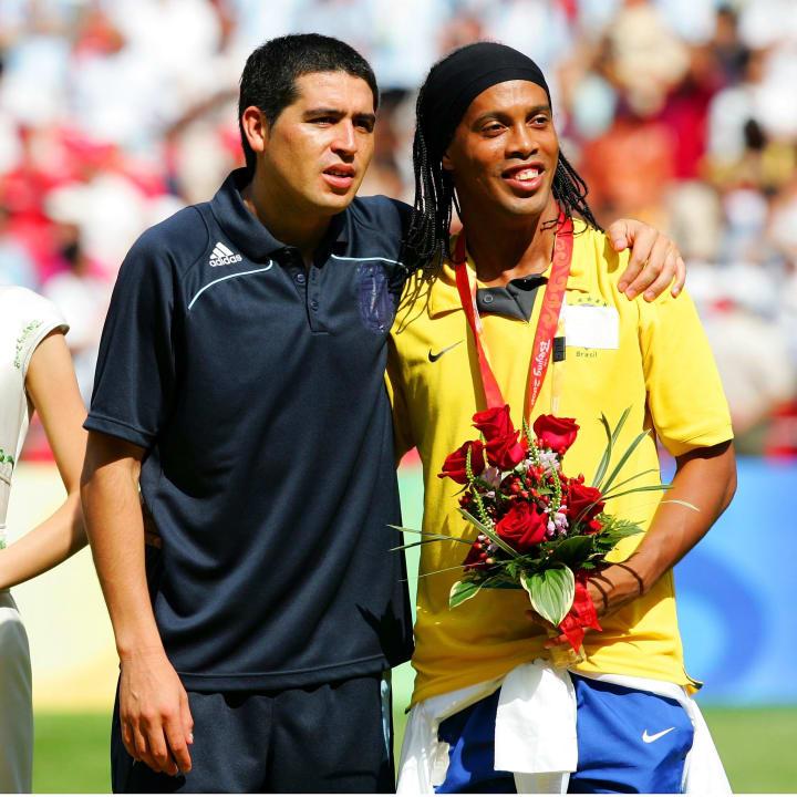 Ronaldinho, Juan Riquelme