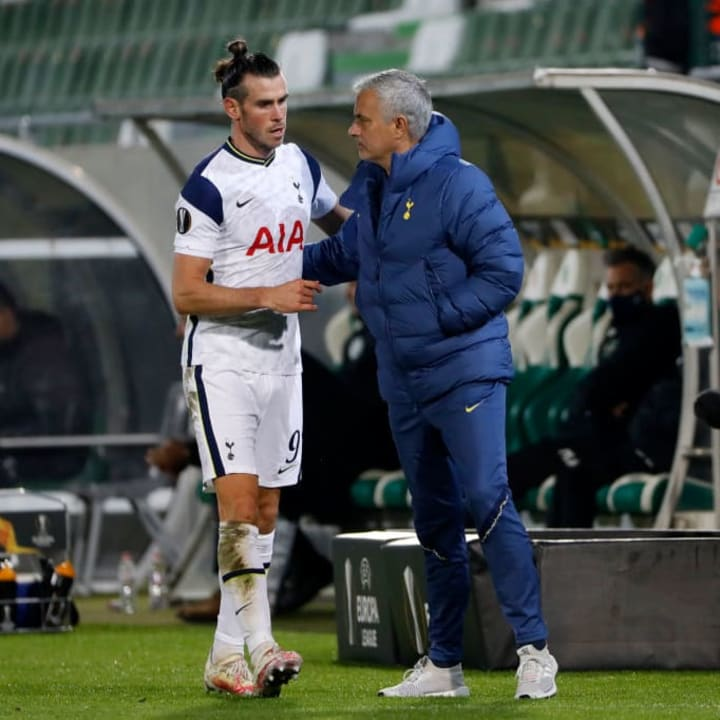 Mourinho is not expecting Bale back for a few weeks