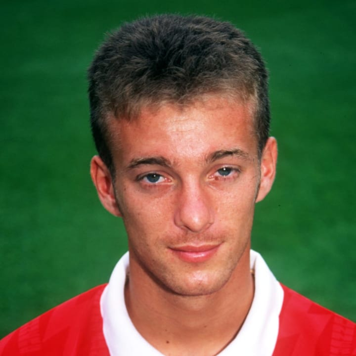 Ian Selley of Arsenal