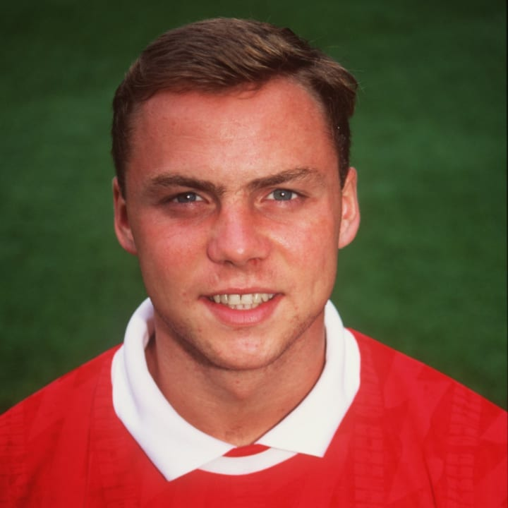 A young Paul Dickov at Arsenal