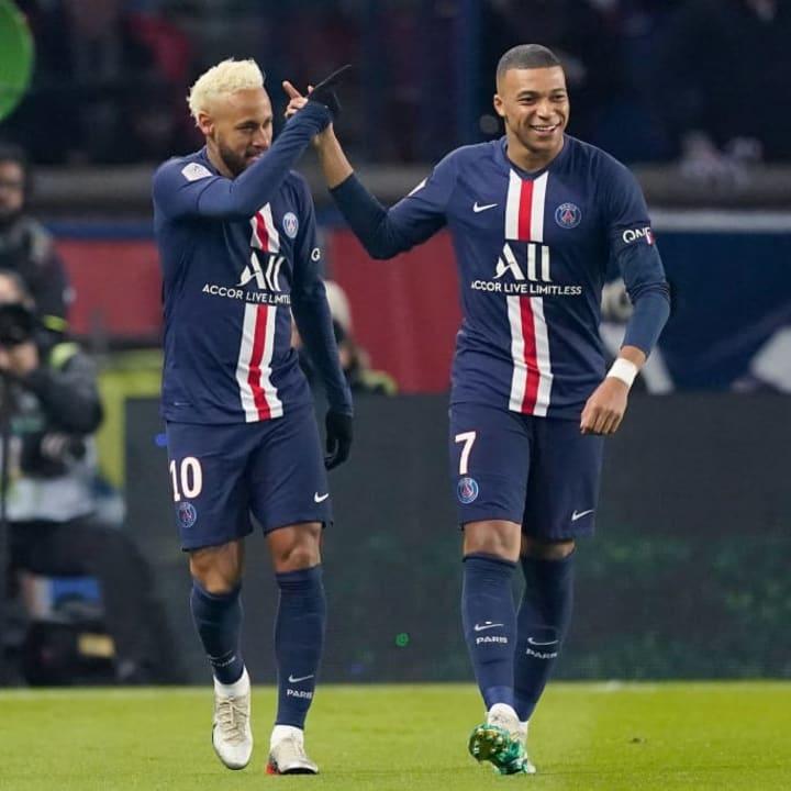 Kylian Mbappe, Neymar Jr