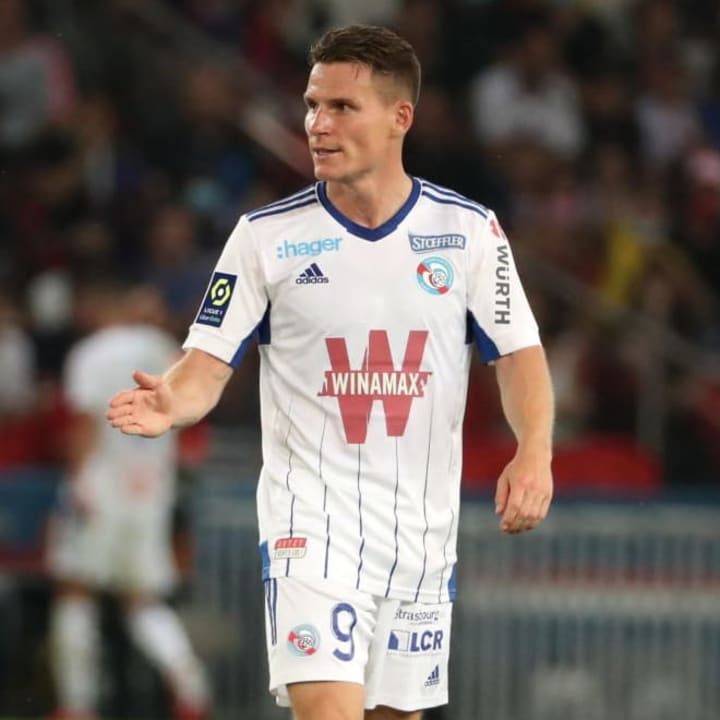 Kevin Gameiro has joined Strasbourg back in his native France