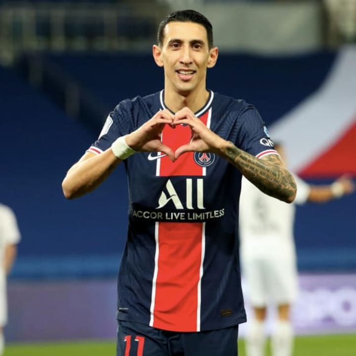 Di Maria has been a key player for PSG since 2015
